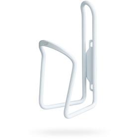 PRO Classic Uchwyt do bidonu Aluminium, white
